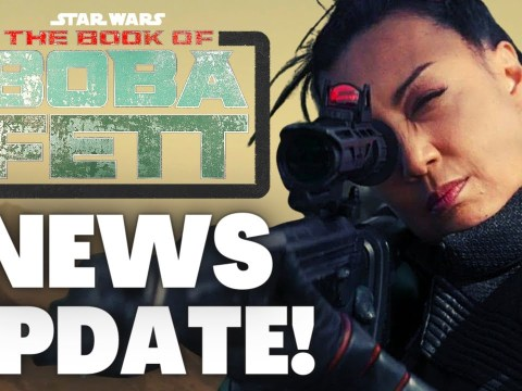 Big Character TEASE For The Book of Boba Fett & More News!