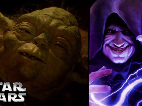 How Did Palpatine React to Master Yoda's Death? - Star Wars