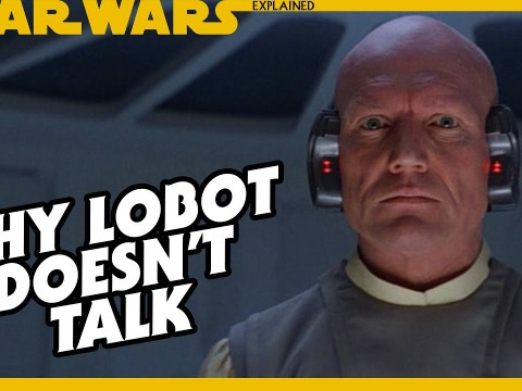 Why Doesn't Lobot Talk - Star Wars Explained