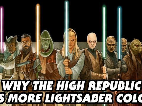 Why There Are More Lightsaber Colors in the High Republic