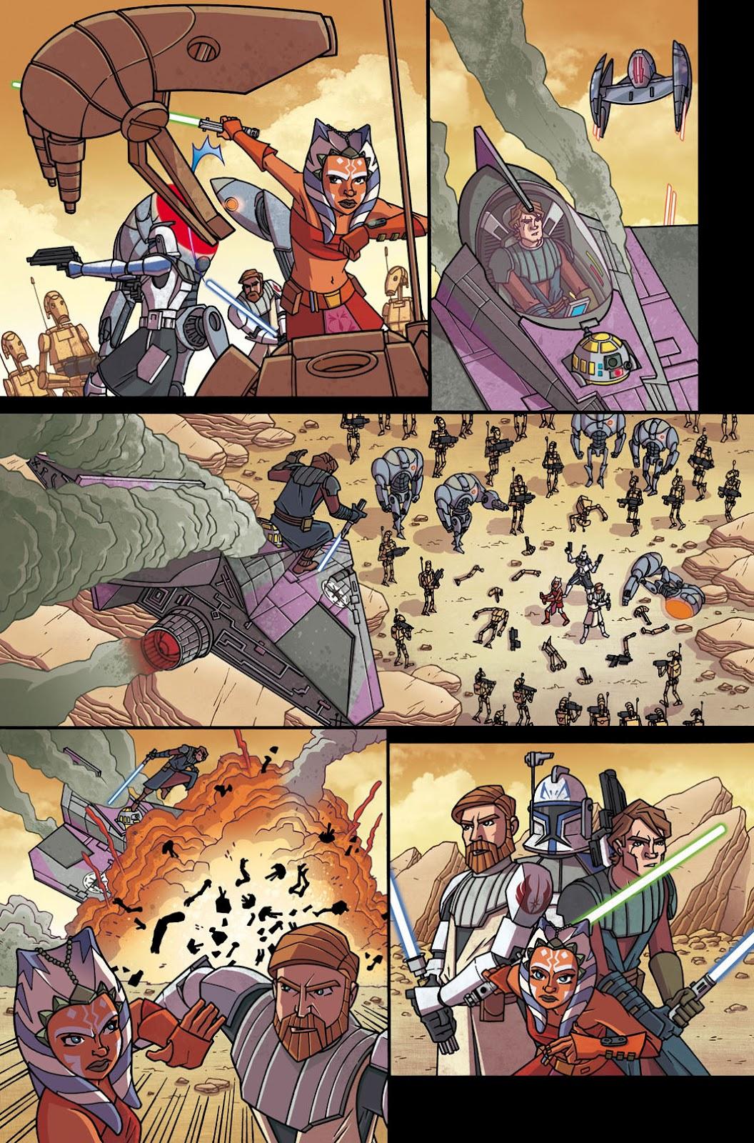 fumetti italiani di star wars bertelè TCW