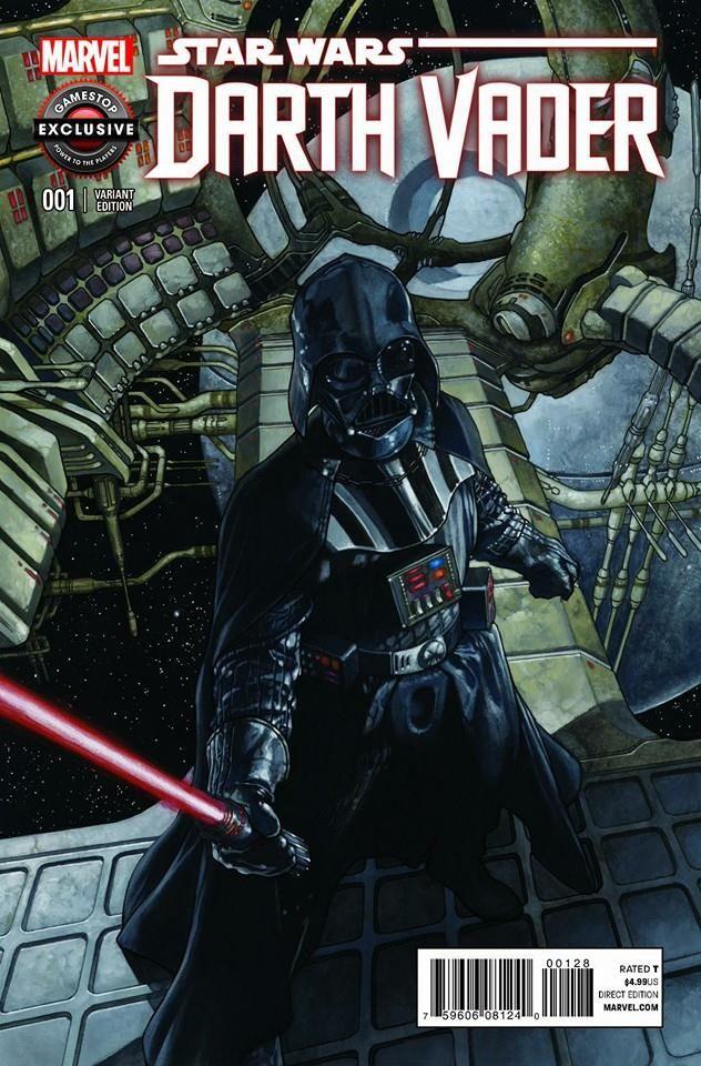 fumetti italiani di Star Wars Bianchi Vader variant