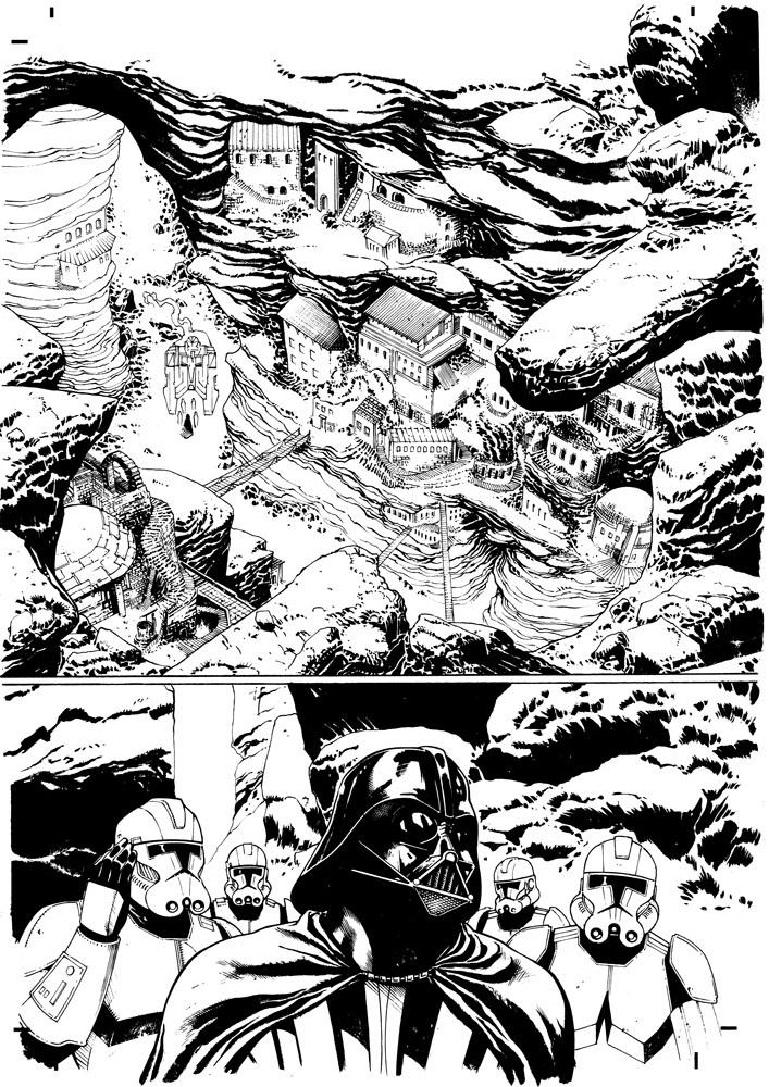 fumetti italiani di star wars castiello purge 1