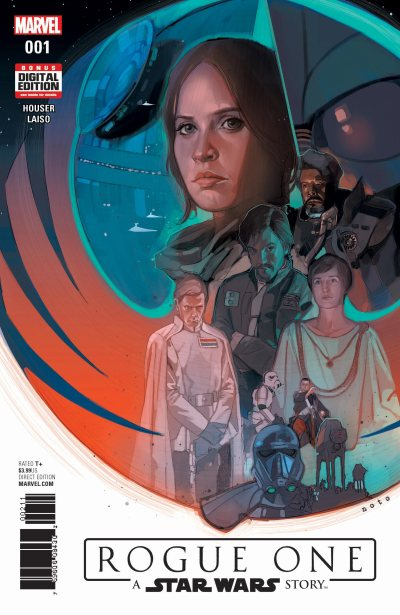 Marvel rogue one cover