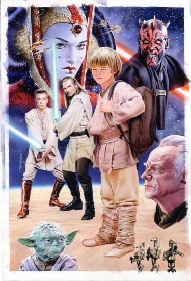 The phantom menace cover