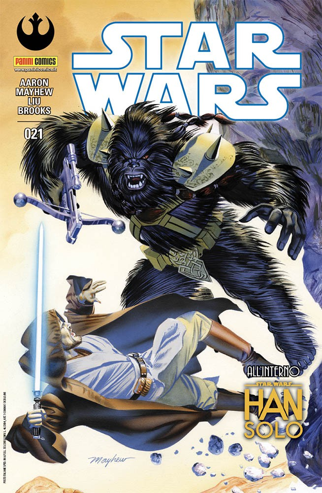 star wars 21 cover