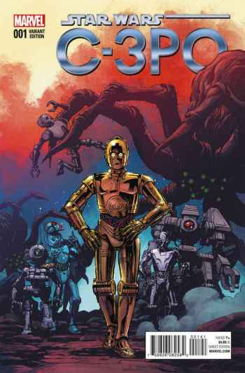 C-3PO variant cover Marvel