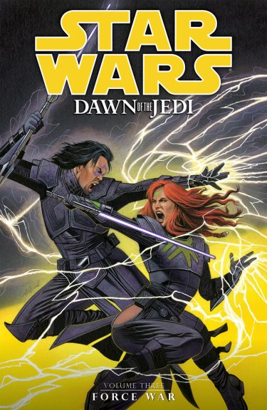 Dawn of the Jedi 3 Force war cover