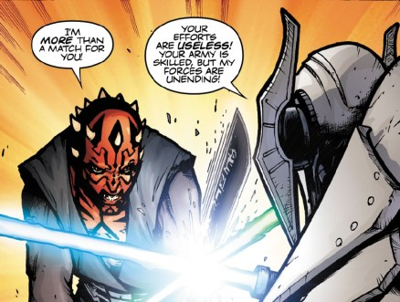 Grievous Darth Maul Son of Dathomir