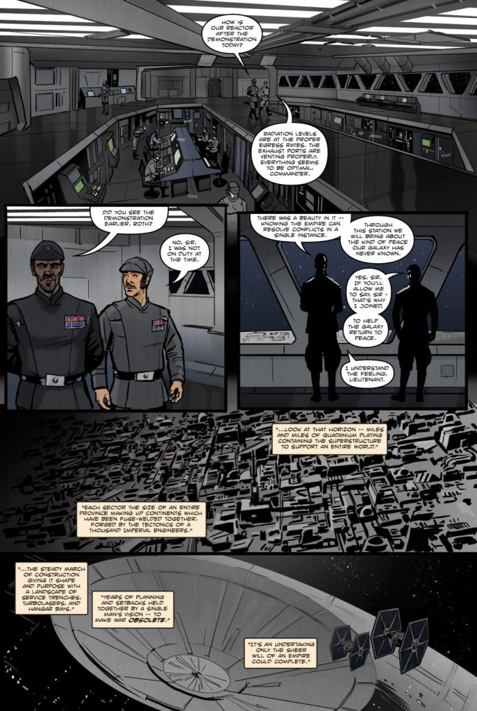 A Star Wars Comic On the Surface