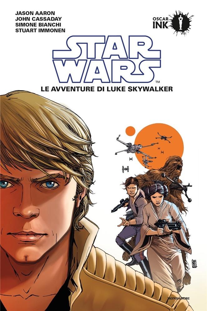 star wars mondadori le avventure di luke skywalker