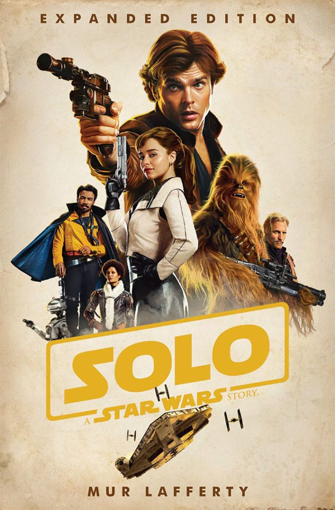 lucasfilm publishing solo novelization