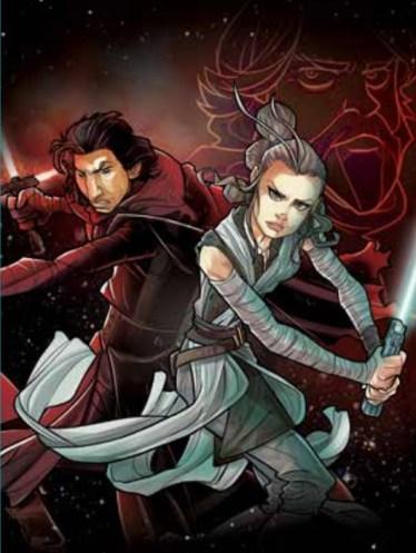 Gli Ultimi Jedi Graphic Novel cover