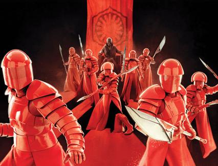 Guardie Pretoriane Snoke Gli Ultimi Jedi