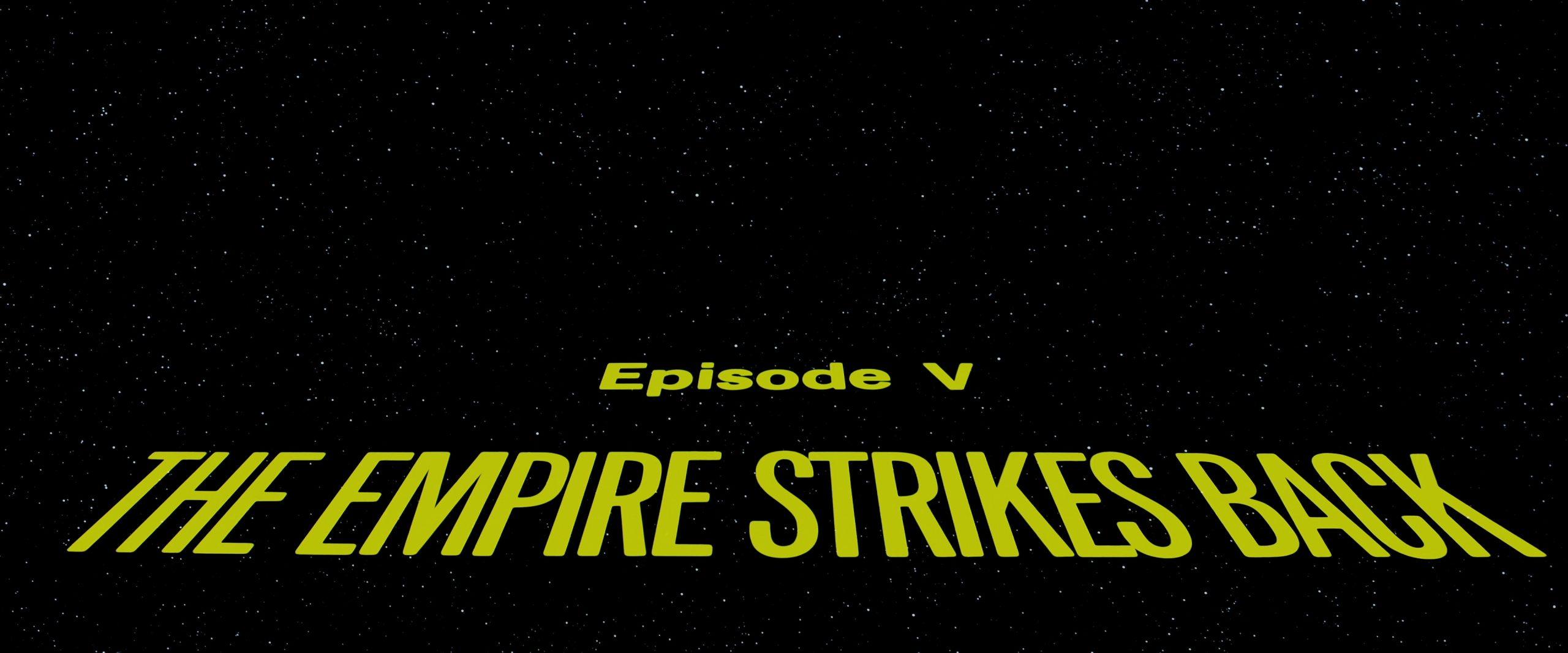 4k Star Wars Episode V The Empire Strikes Back 1980 Starwars Screencaps Com