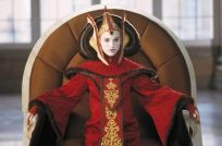 Padmé Amidala served respectively as both constitutional Queen, and later Senator, of Naboo. From her clandestine marriage with Anakin Skywalker, Amidala bore twins (Luke & Leia) before dying shortly afterwards.