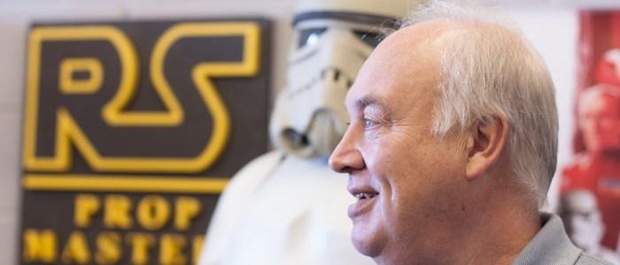 Brian Muir The Original Sculptor For Darth Vader's Helmet Joins The Episode VII Crew