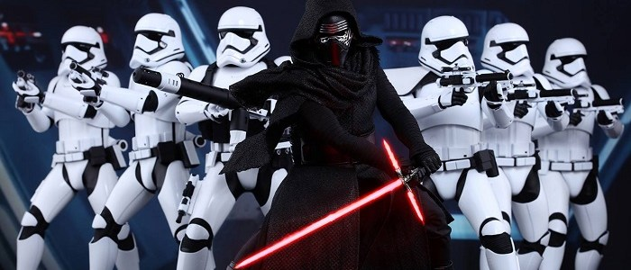 Kylo Ren & First Order Stormtrooper Hot Toys Figures Announced!