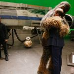 Britains-Prince-William-Duke-of-Cambridge-R-is-hugged-by-Chewbacca