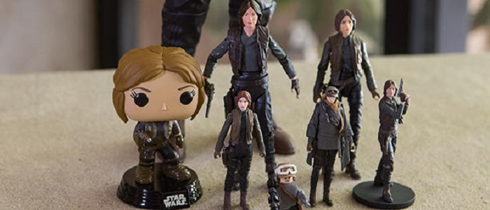 First Look At The Different Jyn Erso Toys