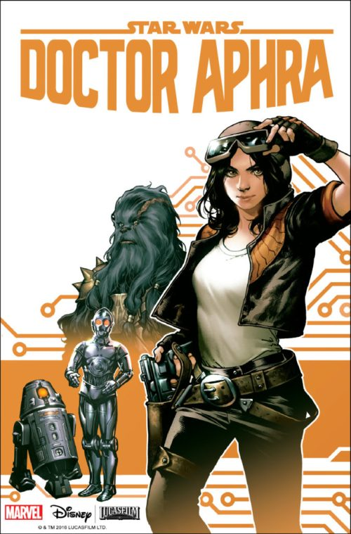 General Discussion: Canon Novels/Comics/Short Stories - Page 3 Doctor-aphra-1-cover-675x1024