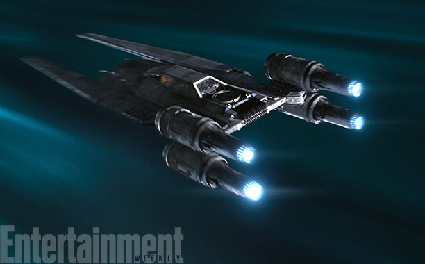 Rogue One: A Star Wars Story (2016)Rebel U-Wing fighter