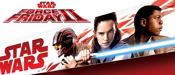 Force Friday II Officially Announced. First Image Of Rey, Finn & Poe From The Last Jedi!