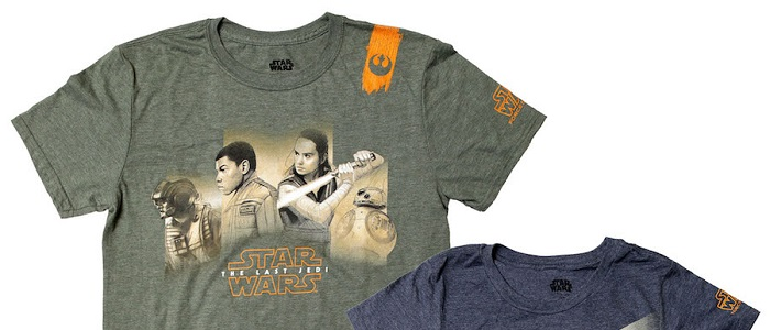 First Look At Some Merchandise For The Last Jedi