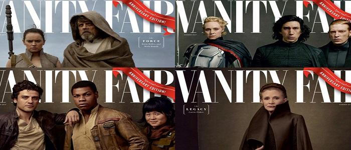 Vanity Fair's The Last Jedi Covers Revealed