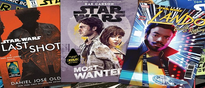Solo: A Star Wars Story Tie-In Books Announced