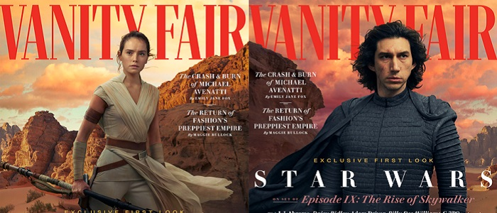 New Details & Photos Of The Rise Of Skywalker From Vanity Fair