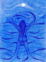 Moon Goddess - Pisces