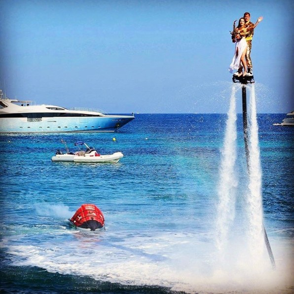 Flyboarding with Mcqueen Shows