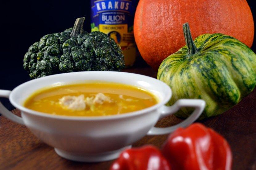 orientalna zupa dyniowa