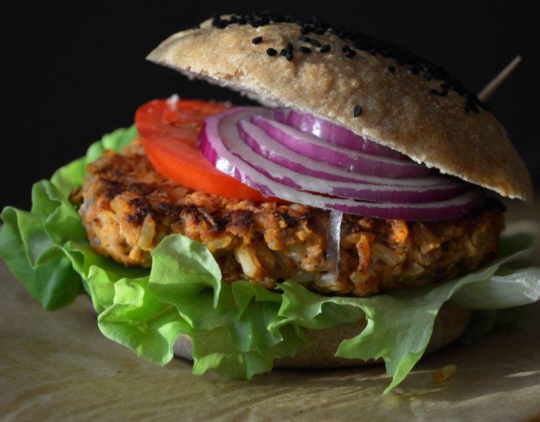 burger ryżowy