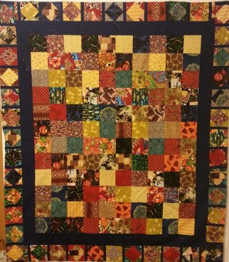"""""""Happy Wanderer"""" Quilt by Cindy"""