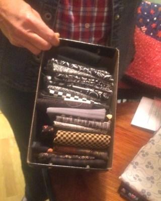 IMG_3441 Stashing Sisters - folding fabric #6
