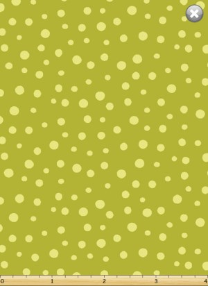 Irregular Dot Medium Green