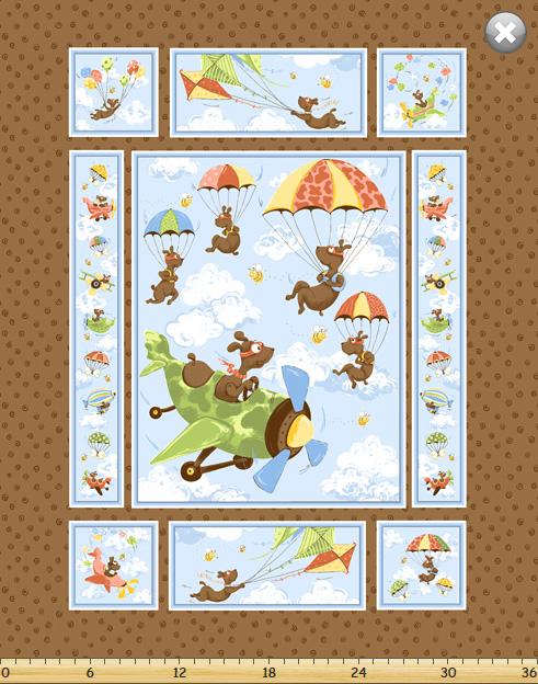 Zig the flying ace panel