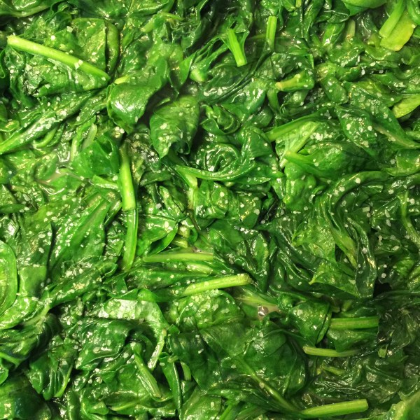 Sautéed Spinach With Lemon And Butter