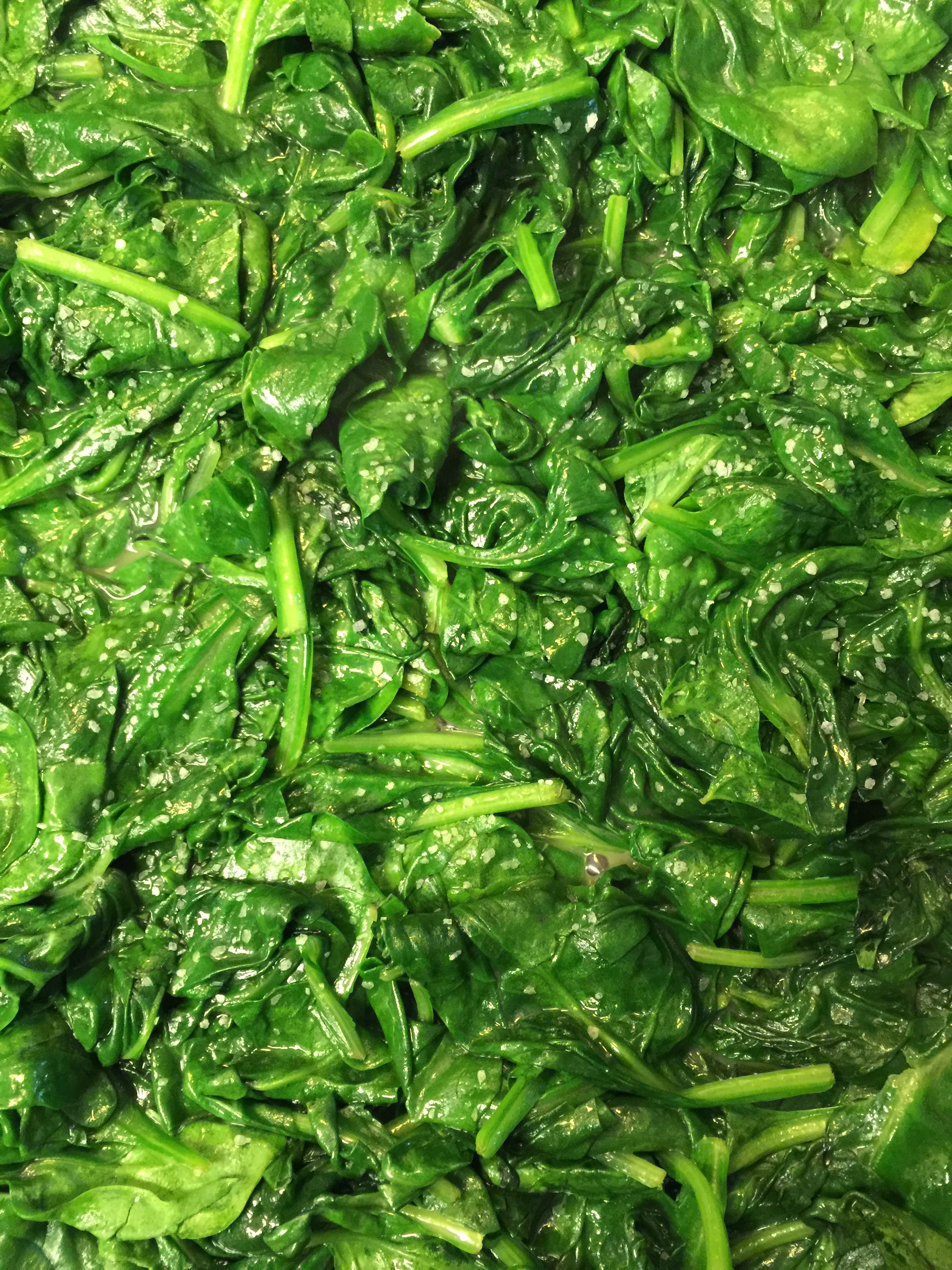 Sauteed Spinach - 1