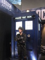 TARDIS at the BBC America booth