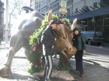 N.Y.に恋して☆-wall street bull