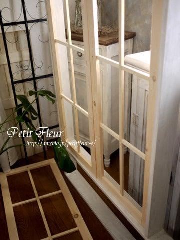 今日のリビング~diyで内窓造り~ Petit Fleur ~ぷちふるの手作りlife~