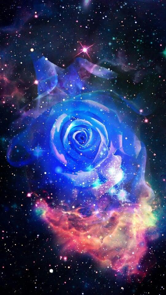 恋愛に効くと思われる画像(宇宙の薔薇) | ウサギの彼女の話