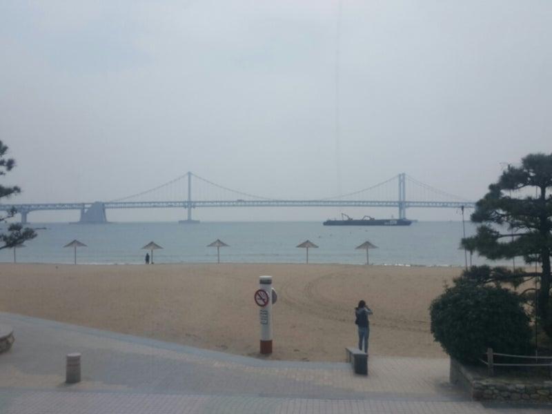 釜山1のビーチ。海雲臺海水浴場へ♪ | 1人を楽しむ方法