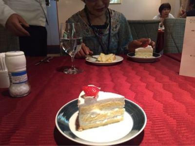 にっぽん丸バーズデーケーキおすそ分け