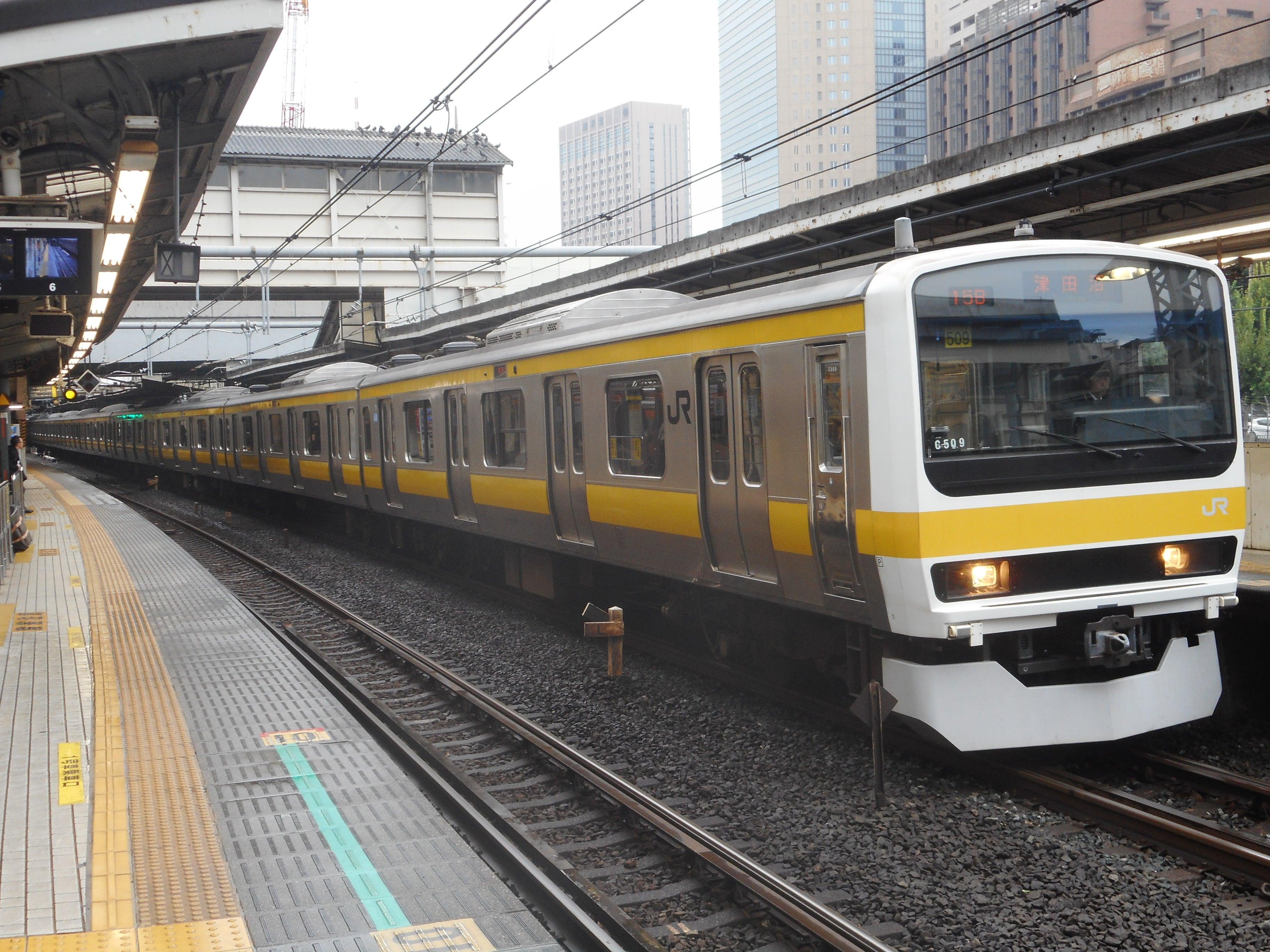 JR中央・総武線各駅停車撮影記…2017年10月25日 | 東京メトロ ...