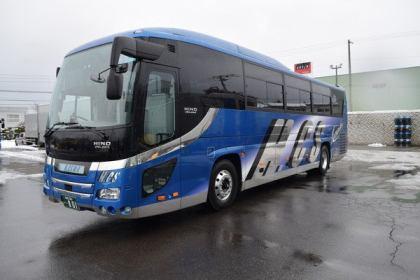 Jバス新車 日野セレガ ハイデッカー 外観