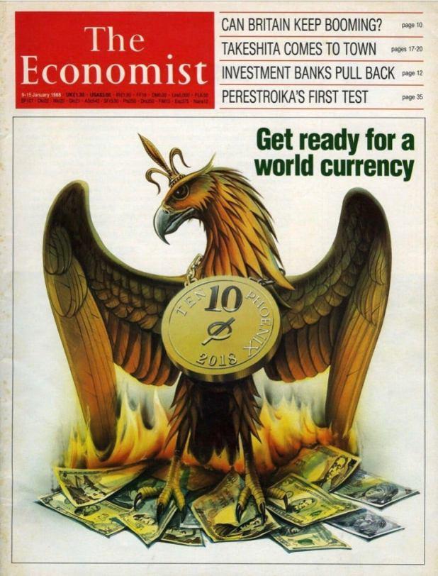 Resultado de imagem para economist 1988